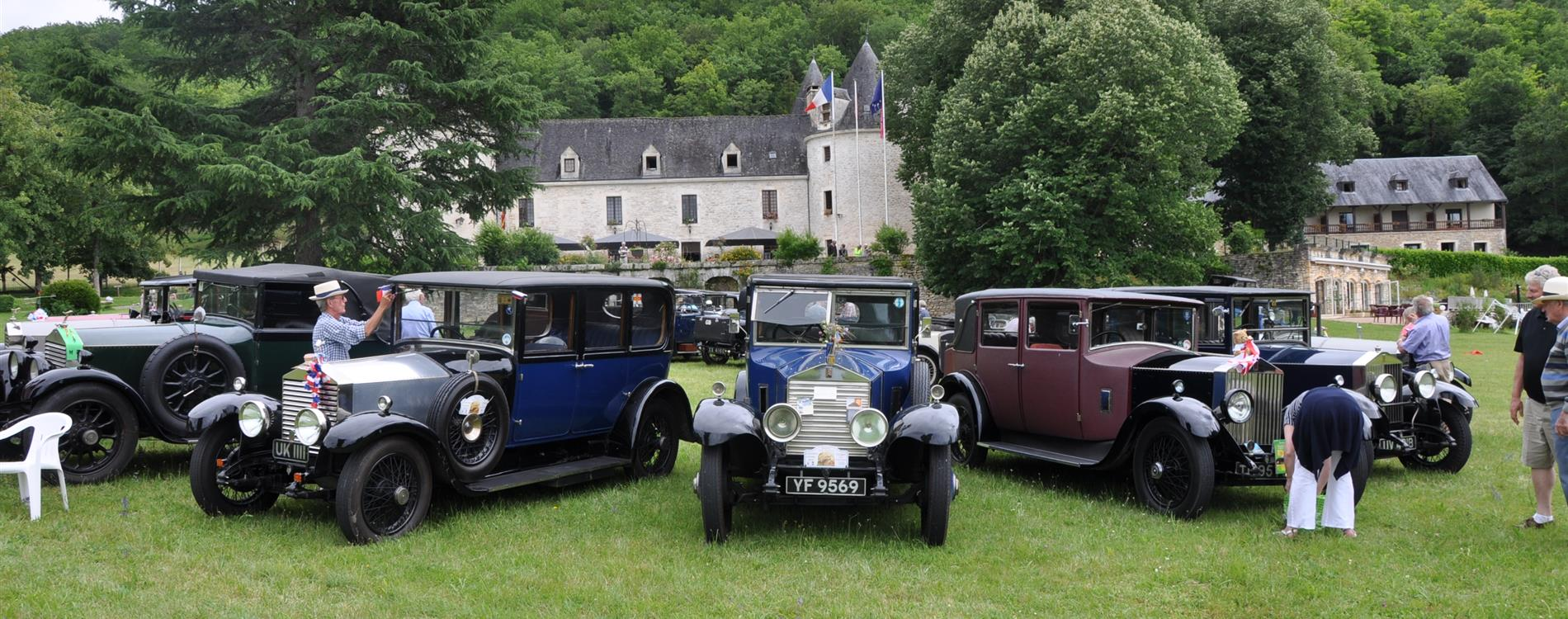 Rolls-Royce Enthusiast's club au chateau